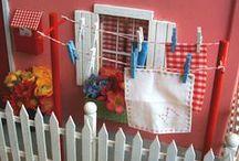 Favorite Miniature Scenes / Dollhouse miniature scenes that I love. My favorite miniature rooms. / by Jennifer Rydell