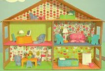 Dollhouse Miniature Ideas / Photos of things I might like to make in miniature plus plans and ideas for building simple dollhouses. / by Jennifer Rydell