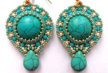 Beaded Earrings / by Beda Hobbs