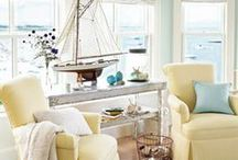 Beachiest Beach Decor / Coastal Decorating, Seaside living, shore houses and beach style ideas are plentiful on Pinterest.  Check out my Board which features my beach house in Ocean City. / by Vintage American Home