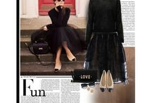 Fashion trends 2014 / a collection of fashion finds, montage and polyvore templates