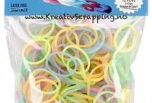 LOOM BANDS - STRETCH BAND - MINI RUBBER