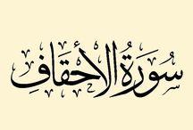 ٤٦) حفظ سورة الأحقاف / ﷽