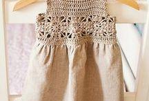 Crochet: children clothing