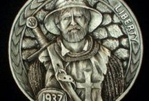 Warriors & Soldiers: Hobo Coin Carvings