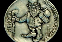 Trolls, Elves, Fairies, & Leprechauns: Hobo Nickels