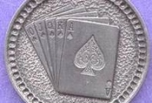 Cards/Money/Gambling Themes: Hobo Coin Carvings