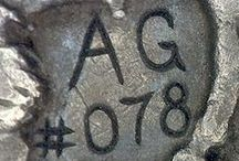 Coin Carver's Signatures, Stamps, and Markings: Hobo Nickels