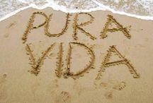 Pura Vida! Costa Rica! / The motherland…literally, my mother and father's land. My second home. My joy, my family, my life. Pura vida! / by Sonia Casorla
