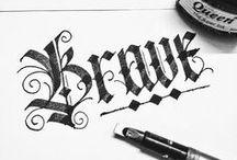 Typography | Caligraphy