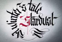Calligraphy & Calligraffiti