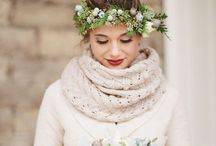 Winter wedding / Wedding ideas and inspiration for a cosy, winter wedding.