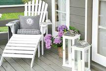 terrace / garden