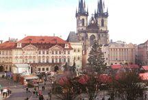 Prague / #republiquetecheque #prague #synagogue #absinthe #czech #praha