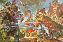 Robots and Dinosaurs / A celebration palaeolithic futurism.