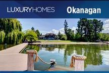 """Luxury Homes in the Okanagan / Showcasing BC's Premier Listings. Home as featured in our quarterly digital magazine """"Macdonald Realty Luxury Homes""""."""