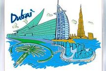 Souvenirs from United Arab Emirates  / Fridge magnets, keychains, souvenir plates, T-shirts  http://www.world-wide-gifts.com/souvenirs/asia/united-arab-emirates/