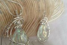 Jewelry - Wire Wrapped / by Astral Jewelry & Designs