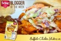Schar's Blogger of the Week / Our collection of #ScharApproved gluten-free blogger recipes!