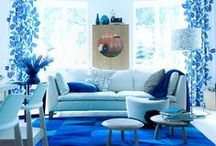Interiors: Bold & Blue / From soothing shades of duck egg and pale pastel hues to electric tones and vibrant colours, blue is the colour to use to really give your home personality.