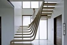We Love: Stunning Staircases / Although stairs are quite a fixed feature in your home, you can try different decorating techniques to give them a breath of fresh air and to create a stunning focal point in your home.
