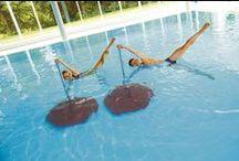 BECO Aquafitness / Die innovativen #Aquafitness Geräte von BECO überzeugen durch ihre hohe Funktionalität im Freizeitsport und Therapiebereich und sehen sportlich und chic aus!