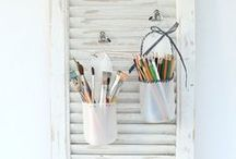 Upcycling / Ideas how to make old stuff new again or make something completely different.