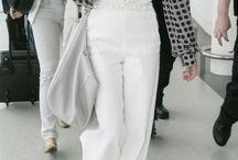 Pantalon large / Wide trousers/ wide pants / oversized pants
