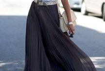 Maxi skirt / Maxi skirt, jupe longue