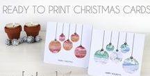 DIY Christmas / Ideas, inspiration and tutorials for a DIY Christmas and decor, cards and printables for the festive season.