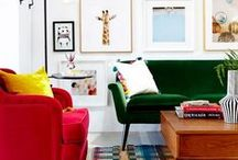 Themes: Eclectic / From whacky prints to oodles of colour, eclectic isn't your usual colour by numbers style. Come step inside this vibrant world...