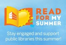Read for my Summer / Help support public libraries while keeping your kids reading and learning all summer long by participating in the We Give Books Read for My Summer program.