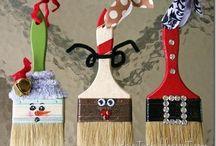 Handmade Christmas Ornaments / Handmade / by Mary Stearnes