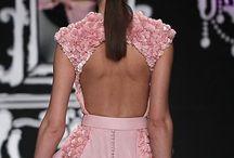Elegance is back / Backless beautiful dresses