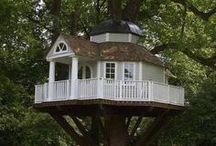obydlí dřevěné - wooden dwelling