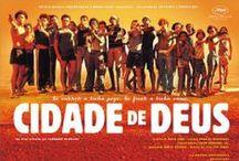 f i l m e s B R A S I L E I R O S / Gosto de filmes nacionais. A lista abaixo tem apenas filmes que já vi e coloco entre os melhores e mais importantes produzidos no Brasil. Incluí também documentários e algumas pornochanchadas clássicas.