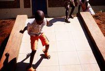 Rutongo and Rwanda / landscapes and people in the village of Rutongo or Rwanda
