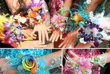 Corsage and Boutonnieres / One stop shop for your school dance needs. Custom designed corsages and boutonnieres, custom garters. We also offer  jewelry.