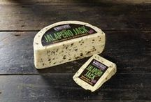 Jalapeño Jack™ Cheese by Windyridge Cheese Ltd / Jalapeño Jack™ is one of our original recipes, and a firm favourite with our customers. Perfectly balanced amount of Jalapeño Peppers mixed with mature Cheddar give this one a real kick! by WIndyridge Cheese Ltd