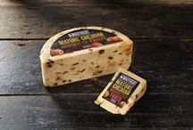 Moroccan Fruits Cheese by Windyridge Cheese Ltd / A slight spice from the Harissa combined with sweet apricots and raisins earned this blend a silver award at the British Cheese Awards. by WIndyridge Cheese Ltd