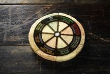 Dartboard Cheese Selection by Windyridge Cheese Ltd / Can't decide? Don't worry we have a solution… Our dartboard selection contains eight of our blends, carefully selected to deliver a combination of sweet, savoury and spicy. by WIndyridge Cheese Ltd