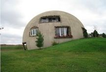Dome Homes / Perhaps, the future of low cost, high tech, high efficiency living - capable of supporting 10 billion people in safe, affordable, environmentally friendly dwellings.