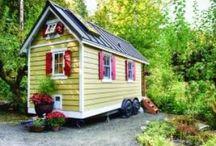 Tiny homes / Домик для дачи из контейнера