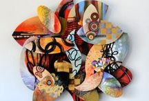 3D Wall Art / Contemporary Three Dimensional Paintings and 3D Wall Art