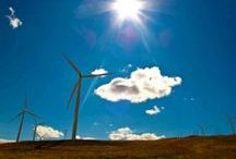 Alternative Energy / All types of alternative energy and green energy: wind energy, solar energy, kinetic energy.. Support the energy transition with sustainable energy sources.