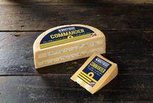 Commander Cheese by Windyridge Cheese Ltd / Commander Cheese - Double Gloucester Cheese layered with Stilton®