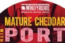 Port Cheese by Windyridge Cheese Ltd / Cheddar Cheese with Port