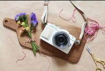 Photo DIY's / Photo Inspiration & ideas for presents including pictures or our accessoires. Don't forget to share your DIY results with us on Instagram #olympusPENgeneration