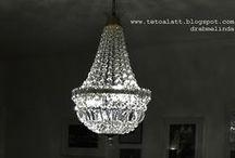 Chandelier / bohemian glass, czeh republic, antique chandelier, vintage chandelier, bohemian chandelier, glass chandelier,