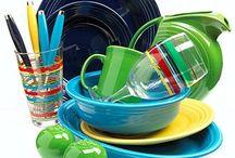Decor: Fiesta Fun / Fiesta Dishware / by Angie Rowe